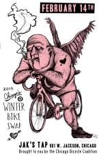 #winterbikeswap #posterart