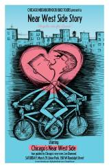 A Near West Side Story poster for Chicago Neighborhood Bike Tours