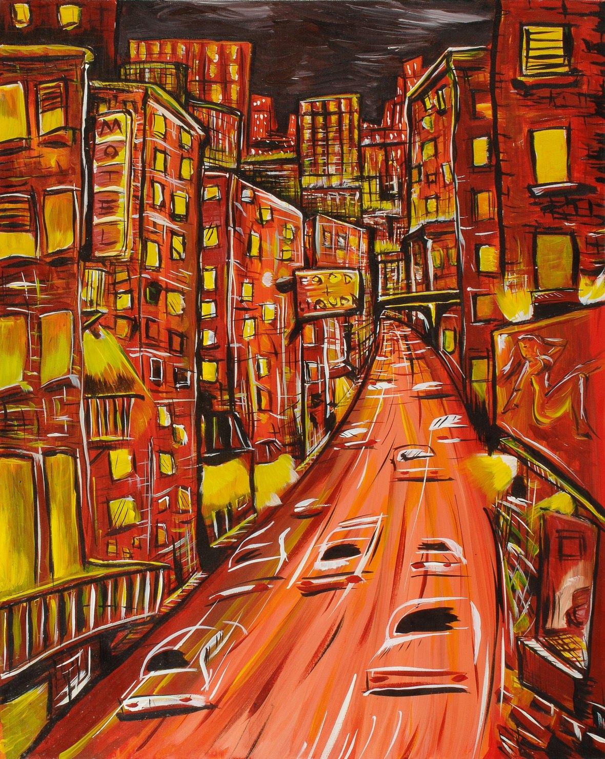 City Night Lights #1