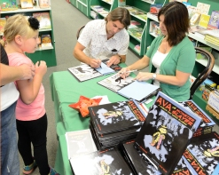 book signing at The Bookstore in Glen Ellyn