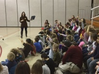 Author presentation for CPS students