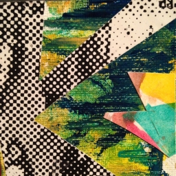"2""x2"" collage study."