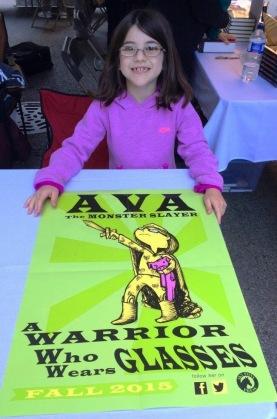 Ava marketing herself