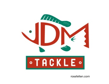 logo design for JDM Tackle