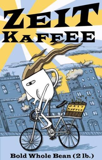 Package illustration & design for Zeit Kaffee.